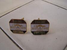 Cufflinks Shrine Centennial 1872-1972