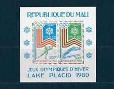 Mali Bloc   jeux olympiques de Lake Placide 1980   num:   12    **