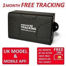 1 mes Gratis Reino Unido del vehículo rastreador de seguimiento en tiempo real TK104 Pro Coche Moto en vivo