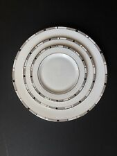 Kate Spade Lenox China Greene Street Plates Dinner Lunch & Bread Butter LOT OF 3