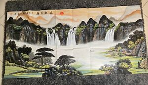 Massive Hand-painted Original Chinese Traditional Ink Painting-Landscapes.(26)