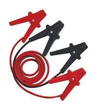 2 meter 10mm positif et négatif de la batterie jump leads câbles de démarrage noir rouge