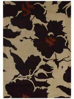 100% Wool Transitional Floral Hand Tufted 5x8 Oushak Oriental Area Rug Carpet