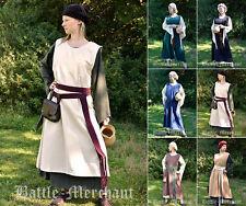 Battle Merchant Mittelalter-Kleid Milla Mittelalterkleid Überkleid LARP S-3XL