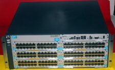 HP ProCurve 5406ZL J8697A w/ 6x J9547A PoE+ 2x J9306A PoE Power Supplies
