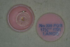 Hairspring balance LANCO 1721 Spirale bilanciere