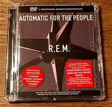 R.E.M. Automatic For People 5.1 Surround Sound DVD Audio New Sealed!
