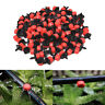"100Pcs Irrigation Drippers Sprinklers Emitter Drip System On 1/4"" Barb"