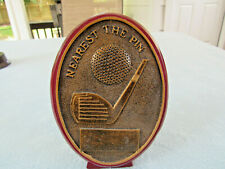 Marco Golf Resin&Rosewood Finish Nearest The Pin Trophy Award Includes Engraving