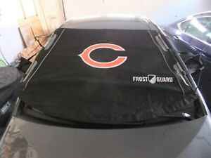 L#922 Chicago Bears/NFL frost guard outdoor windshield cover, NEW