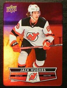 2021-22 21/22 Tim Hortons RED Die Cut DC-13 Jack Hughes New Jersey Devils