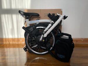 Brompton E-Bike M6L white - 6 speed
