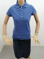 Polo TOMMY HILFIGER Donna Taglia Size M T-shirt Woman Pull Femme Cotone P 7420
