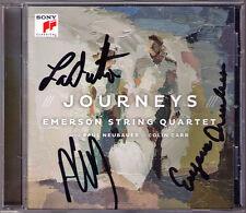 Emerson Quartet Sign Tchaikovsky Souvenir de Florence Schoenberg hollywoodiani notte
