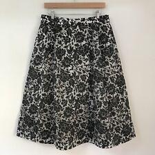 VERONIKA MAINE Womens Skirt, Size 14, Floral Pleated Midi Spring Wedding Work