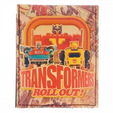 TRANSFORMERS ROLLOUT BI FOLD WALLET ID PHOTO HOLDER AUTOBOTS DECEPTICONS CANVAS