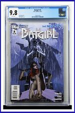 Batgirl #2 CGC Graded 9.8 DC December 2011 White Pages Comic Book