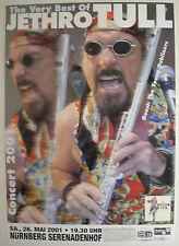 JETHRO TULL CONCERT TOUR POSTER 2001 THE VERY BEST OF KIESER