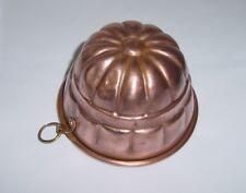 Ancien moule à gâteau cuivre / Antique French copper cake mold