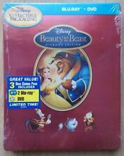 BEAUTY AND THE BEAST STEELBOOK IRONPACK DISNEY USA LA BELLE ET LA BÊTE RARE!!