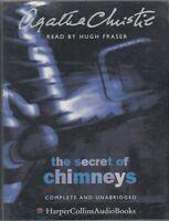 Agatha Christie The Secret Of Chimneys 4 Cassette Audio Book Unabridged