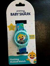 Pinkfong Baby Shark Musical Watch for Kids NEW *PLAYS BABY SHARK THEME* Fun