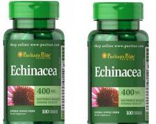 Echinacea Premium 400mg x 200 Capsules Immune System Exp:08/2024