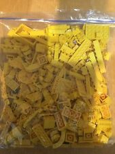 500g of assorted yellow lego