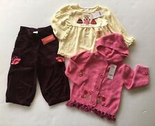 NWT Gymboree Peruvian Doll 2T Tassel Sweater Best Friends Top & Corduroy Pants