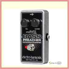 Electro-Harmonix Bass Preacher Compressor / Sustainer Guitar Effects Pedal