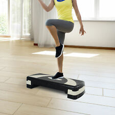 "32"" Aerobic Stepper Step Exercise Workout Trainer Yoga Riser 4""-6""-8"""