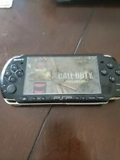 Sony PSP 3000 With Custom Firmware Mod And 64 GB SD Card