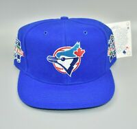 Toronto Blue Jays Vintage 1992 1993 MLB World Series Champions Snapback Cap Hat