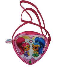 Girls - Shimmer And Shine Heart Shaped Shoulder Bag