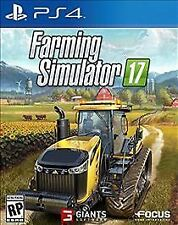 Farming Simulator 17 RE-SEALED Sony PlayStation 4 PS PS4 GAME 2017 2K17