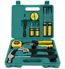 12 Pcs Tech Professional Hand Carry Tool Box Kit Basic Home Fix Repair Tool Set
