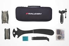 Raleigh viaggio Workshop Bike Tool Kit di manutenzione forare riparazione KIT Borsa Custodia