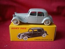 DINKY TOYS (éditions atlas) -  Citroën Traction 11 BL Ref: 24N
