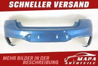 BMW 1er F20 M-PAKET LCI Facelift Bj. ab 2015 Stoßstange Hinten PDC Original Blau