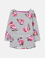 Joules Womens 212062 3/4 Length Sleeve Jersey Printed Top