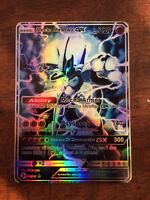 Pokemon GX Ex Mega Dark Proxy Mega M Shiny Shinyng Mewtu Shadow Full Art