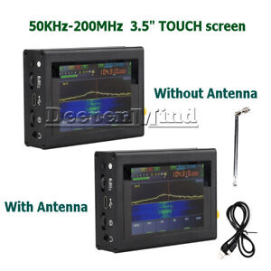 Malachite Malahit DSP SDR Shortwave Radio Receiver HAM 0KHz-200MHz 50KHz-2GHz