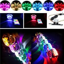 Bluetooth APP Control Headlights Retrofit RGB LED Devil Eyes Bulbs  2pcs/set