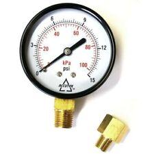 Kerosene Heater Low Pressure Test Gauge