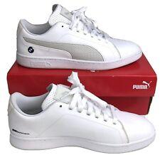 Puma BMW Shoes Men's Size 10 White MMS Smash V2