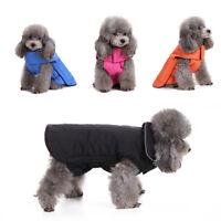 EG _ HK- hiver Chiot Chaud vêtements chien de compagnie MODE MANTEAU VESTE CHAT