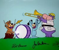 "Hanna Barbera Cel Signed Rare Pre-Production Huck's Band""Huckleberry Hound Cell"