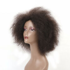 14.2 Inch Hair Synthetic Short Kinky Curly Afro Wig Super Fluffy Wigs for Womens