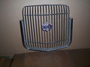 1971-1973 Mercury Cougar XR7 front grill with some pitting, in good condition.