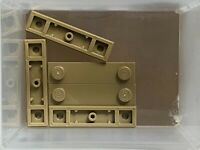 LEGO Parts - Dark Tan Plate 1 x 4 w 2 Studs w Groove - No 41740 - QTY 5